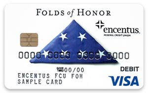 FOH (Folds of Honor) Debit Card Design