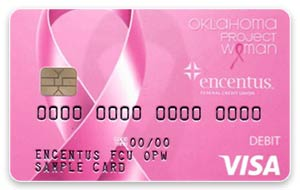 OPW (Oklahoma Project Woman) Debit Card Design